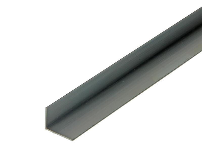 Arcansas Cornière 2m 15x20 mm aluminium naturel