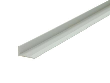 Arcansas Cornière 2m 20x10 mm PVC blanc