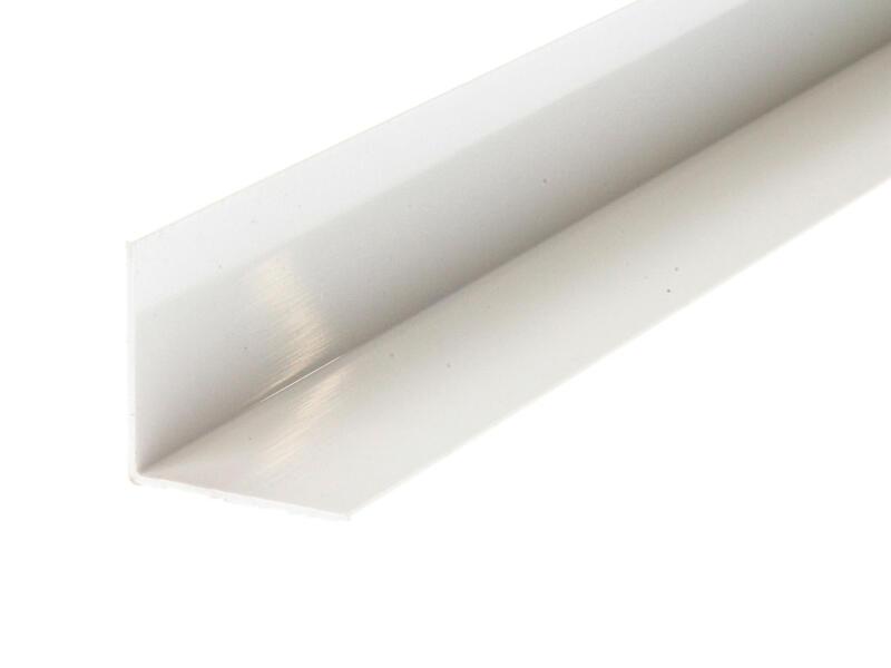 Arcansas Cornière 2m 30x30 mm PVC blanc