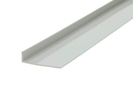 Arcansas Cornière 2m 40x10 mm PVC blanc