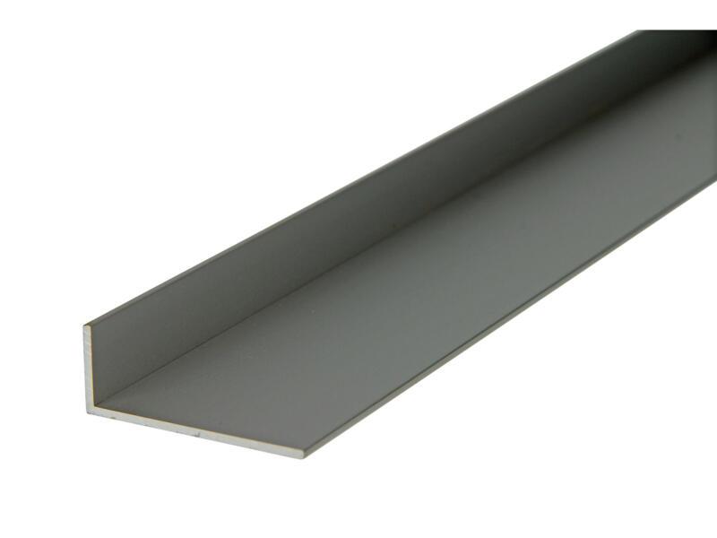 Arcansas Cornière 2m 40x15 mm aluminium mat anodisé