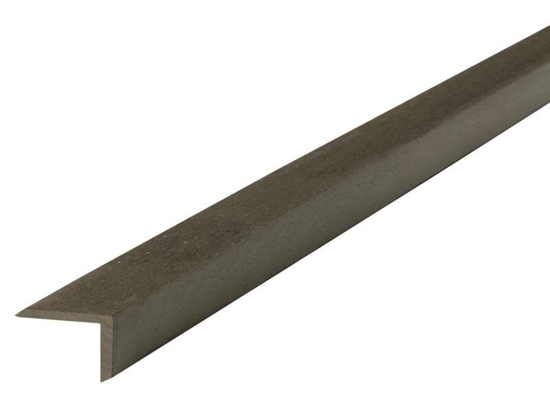 Cornière 45x45x5 mm composite anthracite