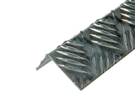 Arcansas Cornière grain de riz 1m 50x30 mm aluminium naturel
