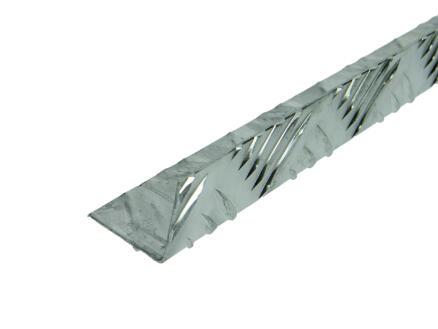 Arcansas Cornière grain de riz 2m 30x30 mm aluminium naturel