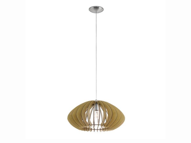 Eglo Cossano 2 hanglamp E27 max. 60W 50cm ahorn