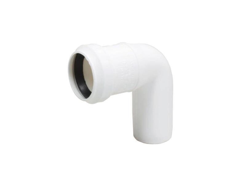 Scala Coude 32mm 87° polypropylène blanc