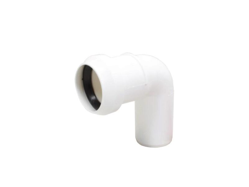 Scala Coude 40mm 87° polypropylène blanc