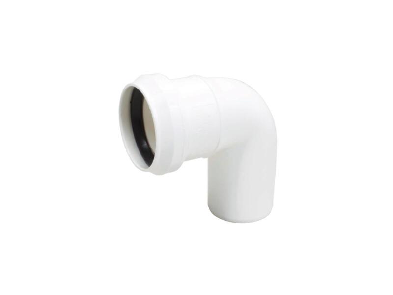 Scala Coude 50mm 87° polypropylène blanc