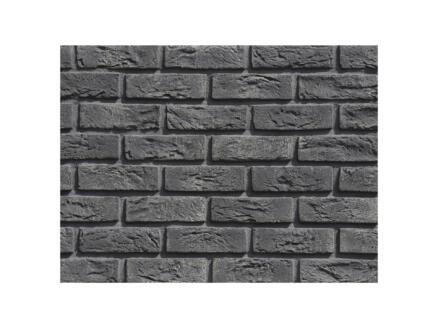 Country 630 steenstrip 1m² zwart 63 stuks