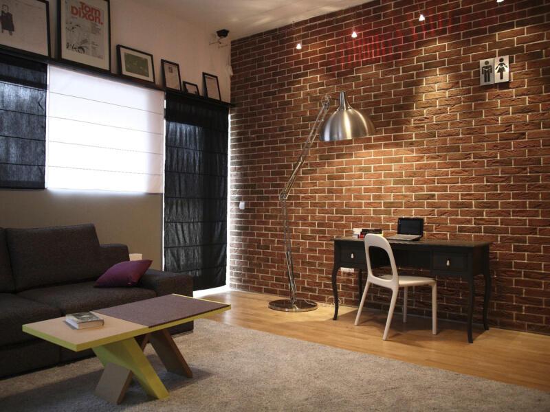 Country 640 brique de parement 1m² rouge 63 pièces