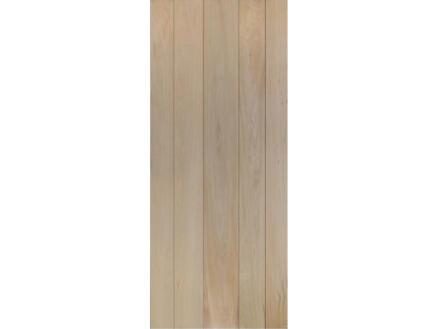 Solid Country Oak Eclipse porte intérieure 201x73 cm chêne brun
