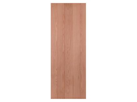 Solid Country Oak binnendeur B000 231,5x93 cm ongefreesd eik