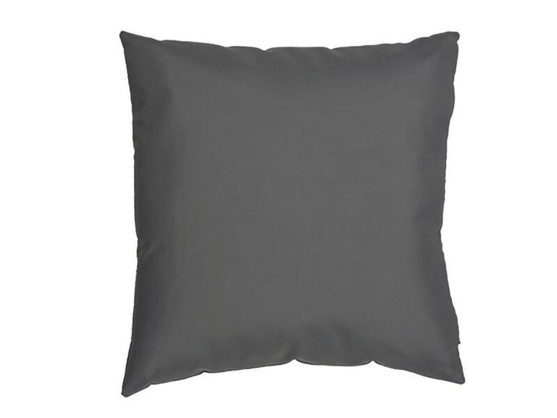 Coussin 40x40 cm gris clair