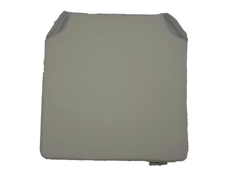 Coussin de chaise 40x40 cm mastic