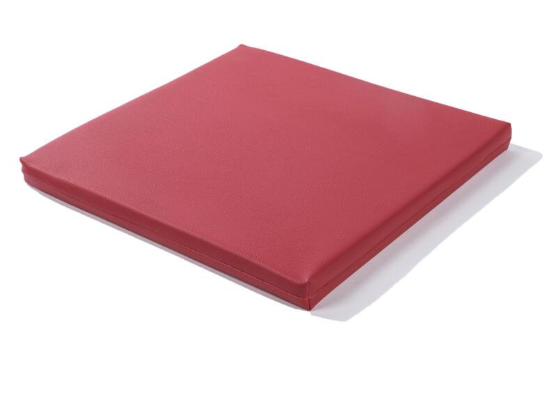 Coussin pour Cubus 40x40 cm rouge