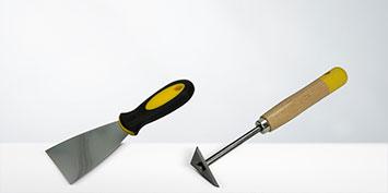 Couteaux à enduire & grattoirs à peinture