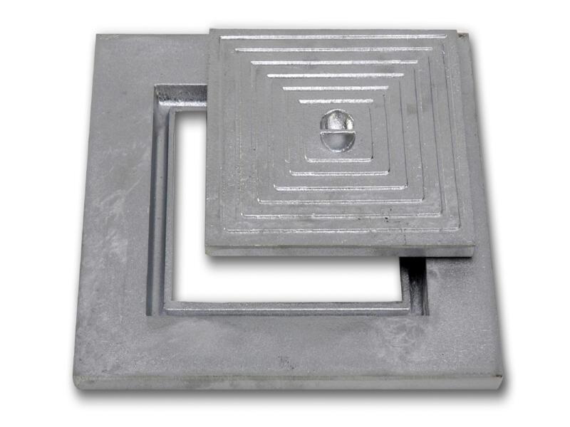 Couvercle de puits simple 50x50 cm aluminium