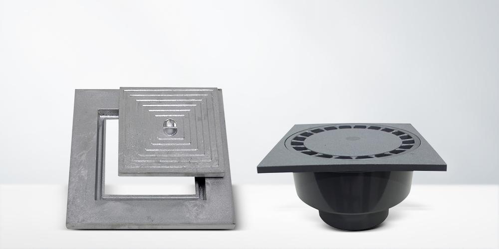 Couvercles de puits & siphons de sol
