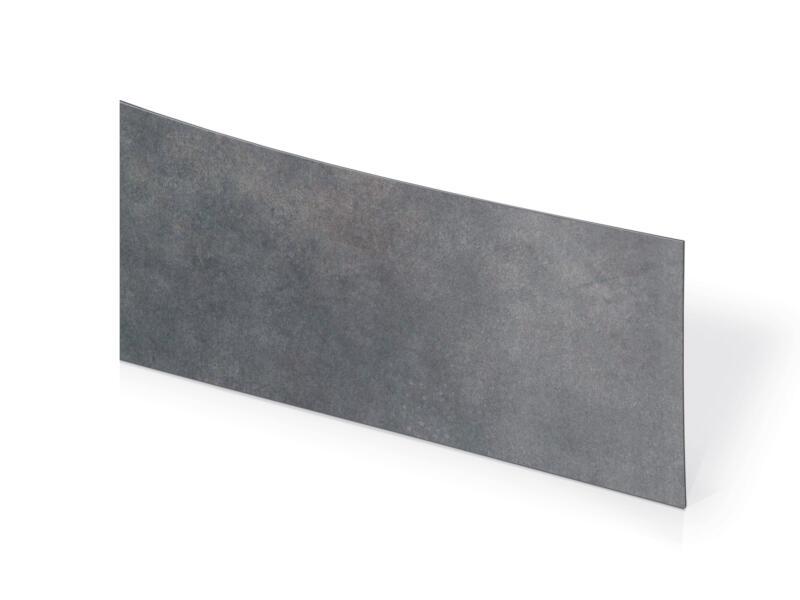 Couvre-chants 3,05m x 45mm gris béton