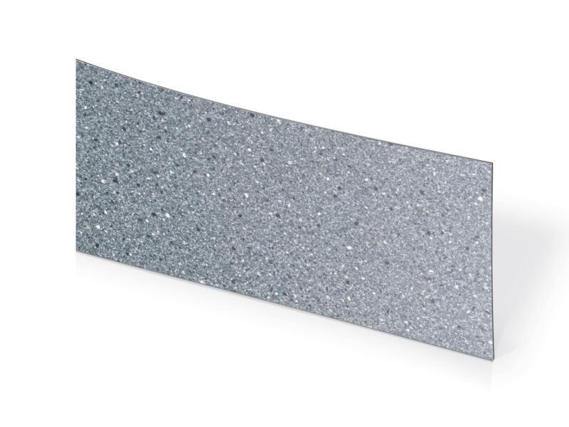 Couvre-chants 3,05m x 45mm gris tacheté