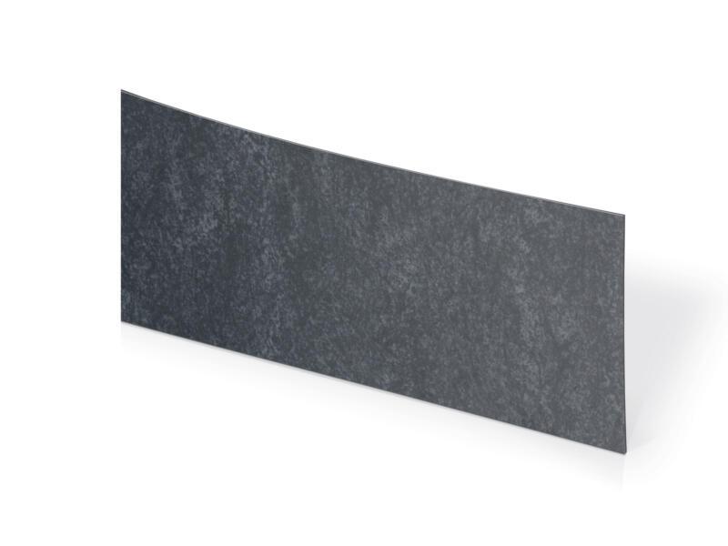 Couvre-chants 3,05m x 45mm noir granite