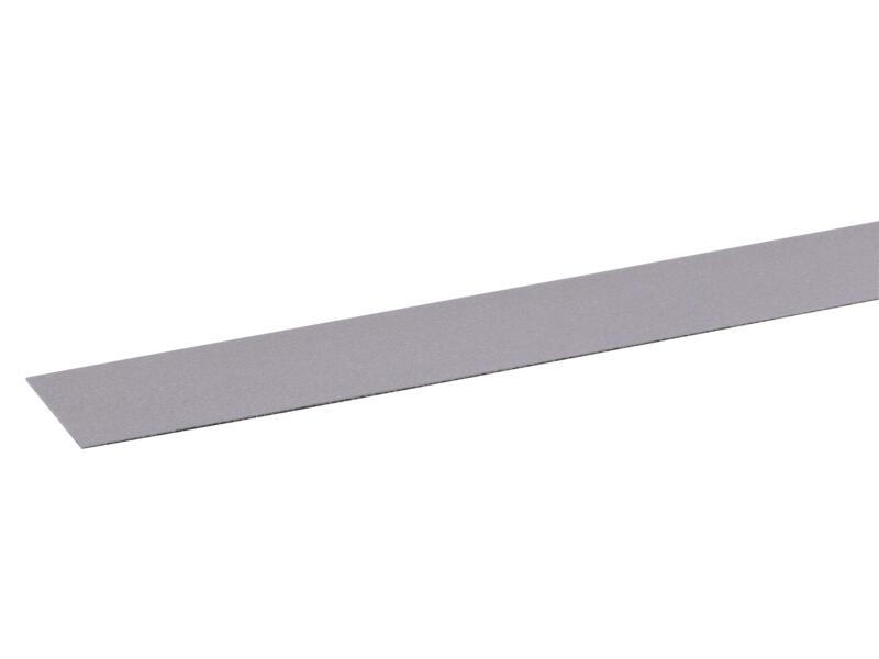 Couvre-chants 50m x 24mm gris aluminium