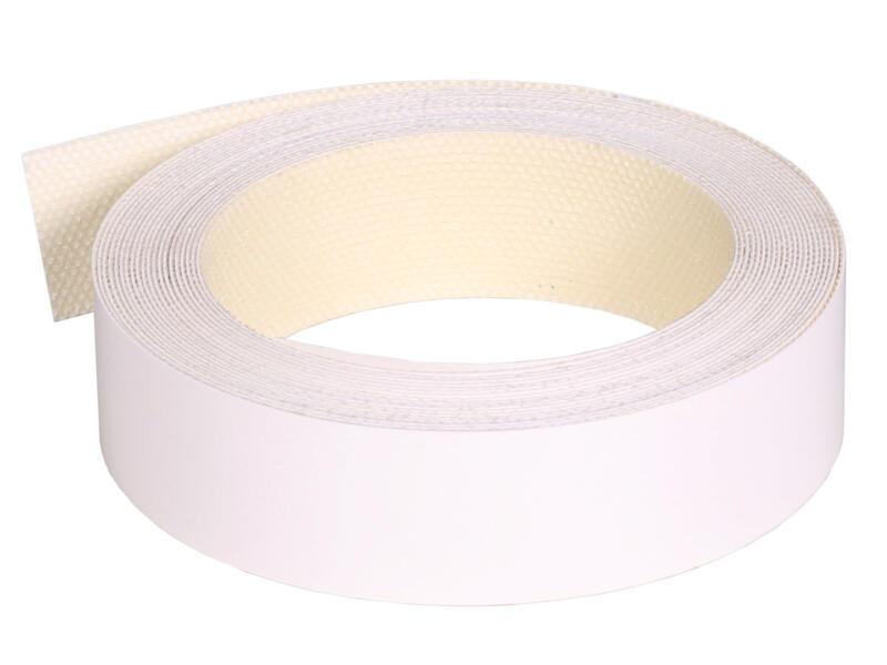 Couvre-chants 5m x 22mm blanc