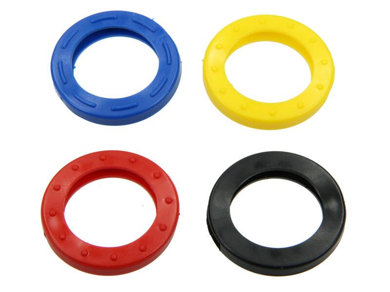 Yale Couvre-clés coloré pour clé carrée lot de 4