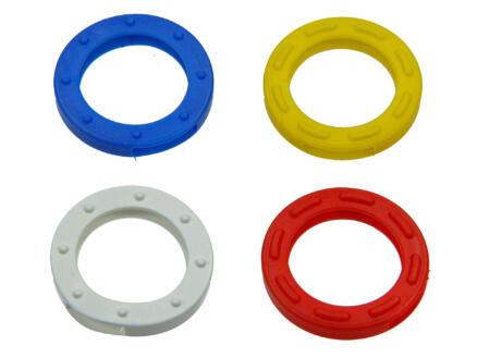 Yale Couvre-clés coloré pour clé ronde lot de 4