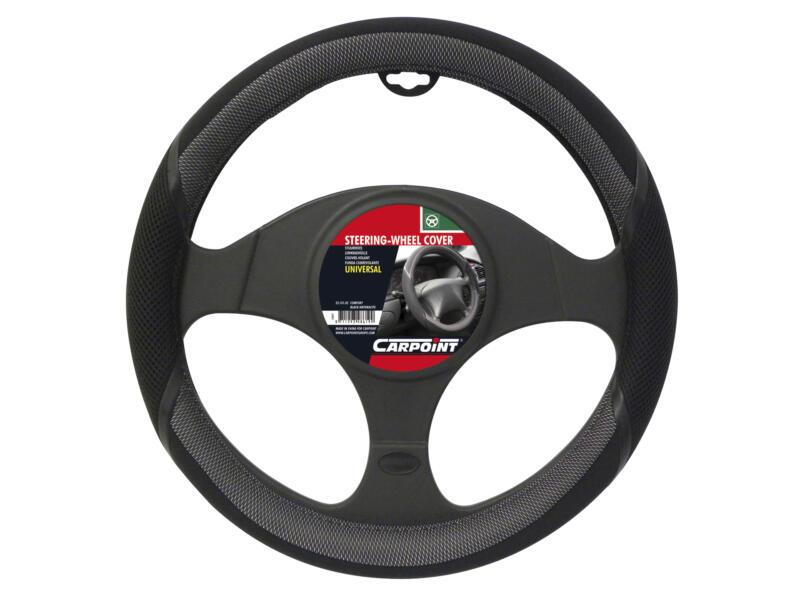Carpoint Couvre-volant Comfort noir-anthracite