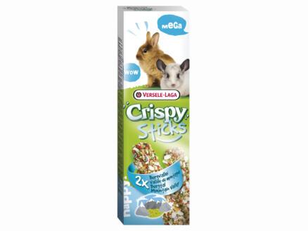 Crispy Mega Sticks sticks à ronger lapins & chinchillas vallée de montagne 2 pièces