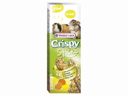 Crispy Sticks knaagsticks cavia's & chinchilla's agrumen 2 stuks