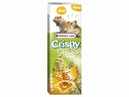 Crispy Sticks sticks à ronger hamsters & gerbilles miel 2 pièces