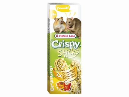 Crispy Sticks sticks à ronger hamsters & rats popcorn & miel 2 pièces