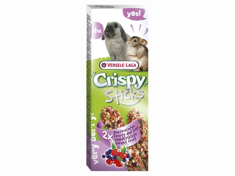 Crispy Sticks sticks à ronger lapins & chinchillas fruits des bois 2 pièces