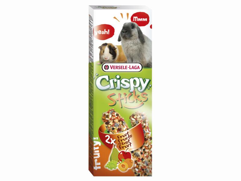 Crispy Sticks sticks à ronger lapins & cobayes fruits 2 pièces