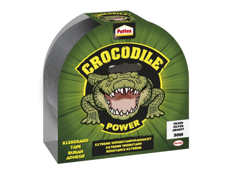 Pattex Crocodile tape 30m grijs