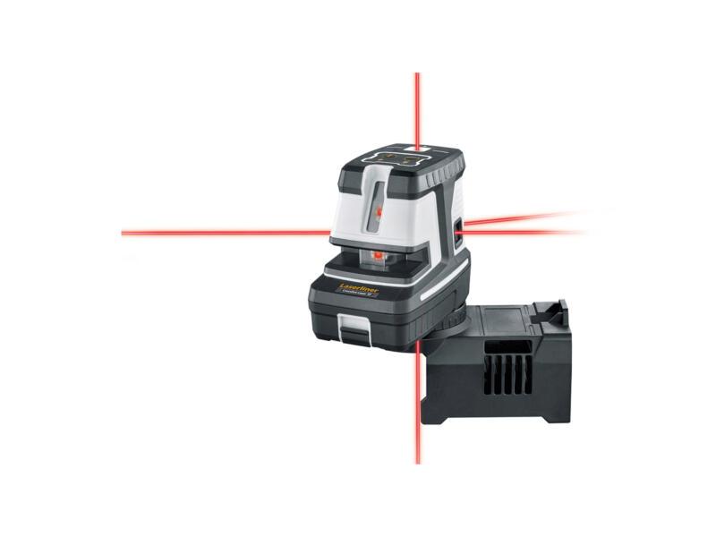 Laserliner CrossDot-Laser 5P Plus kruislijnlaser en 5-puntlaser