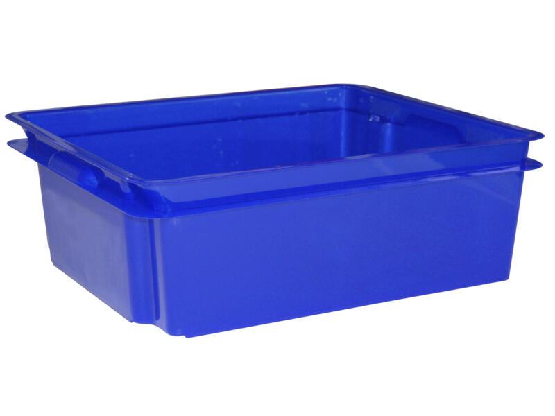 Keter Crownest opbergbox 17l laser blauw