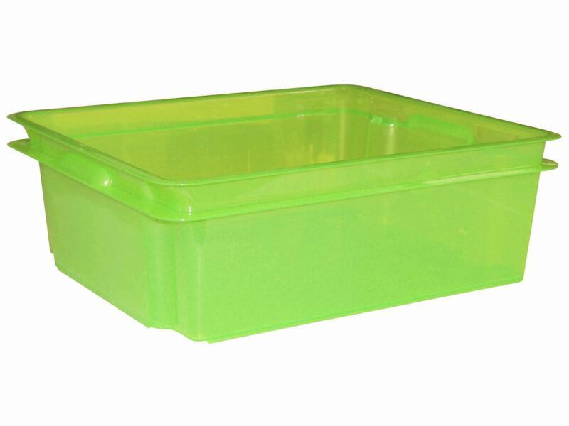 Keter Crownest opbergbox 17l laser groen