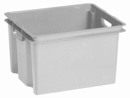 Keter Crownest opbergbox 30l grijs