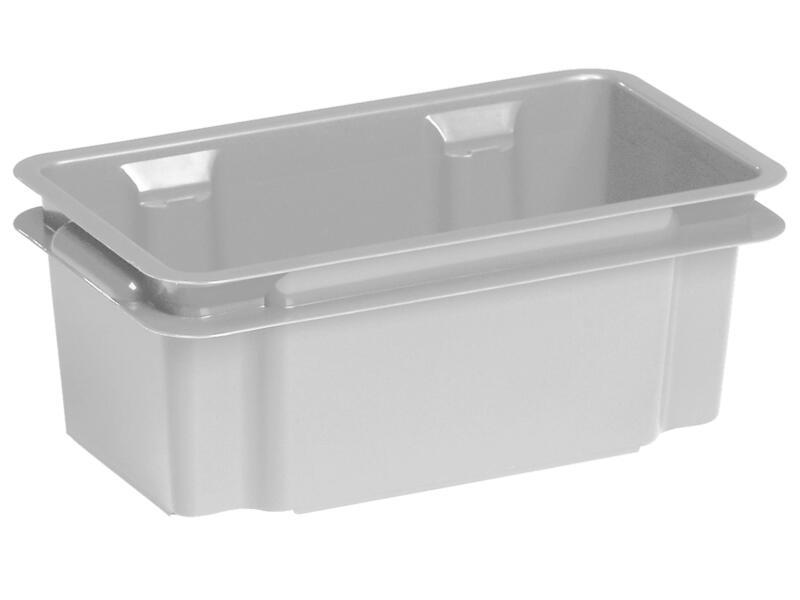 Keter Crownest opbergbox 7l grijs graniet