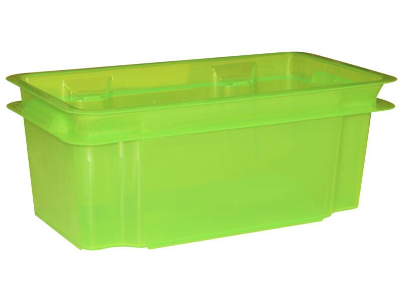 Keter Crownest opbergbox 7l laser groen