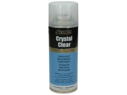 Crystal Clear lakspray hoogglans 0,4l transparant
