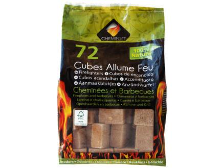 Forever Cubes allume-feu 72 pièces