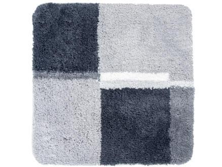 Differnz Cubes tapis de bain 60x60 cm gris