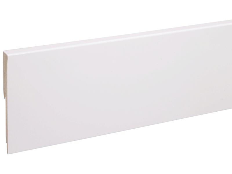 CanDo Cubic plint 120x12 mm 240cm wit
