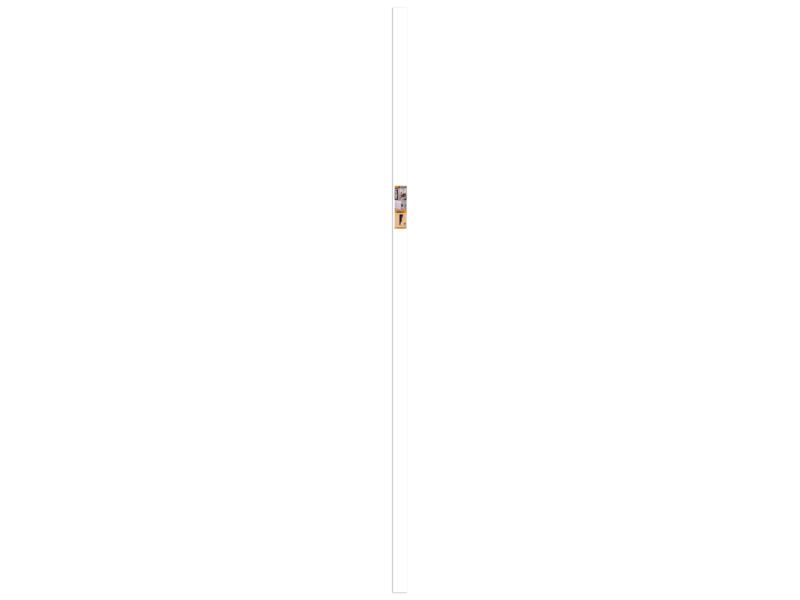 CanDo Cubic plinthe 58x19 mm 240cm blanc