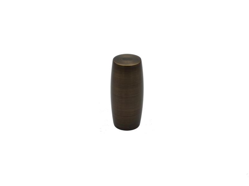 Cubus embout pour tringle à rideau 25mm bronze