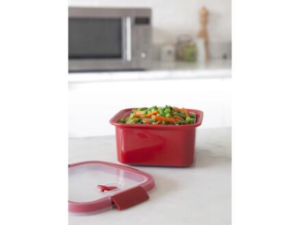 Curver Cuiseur vapeur Smart Microwave 1,1l carré